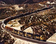 Go on a train ride through the Summit Cajon Pass