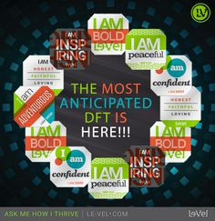 It's here!!!  The most anticipated DFT is here!!  Inspire yourself to a healthier life