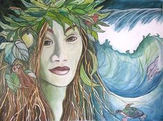 hawaiian mythology gods   Laka is seen as a Hawaiian goddess of plants, forest and hula/ She is ...