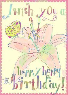 Happy birthday Lily by Sevenstar aka Elisandra, via Flickr