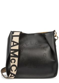 Stella Logo small faux leather cross-body bag - Stella McCartney Stella  Mccartney Bag aabf90afd37a9