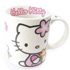 Hello Kitty flower mug