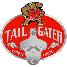 """Checkout our #LicensedGear products FREE SHIPPING + 10% OFF Coupon Code """"Official"""" Maryland Terrapins Tailgater Hitch Cover Class III - Officially licensed College product Class III hitch cover for 2 inch hitch receivers  Fully cast metal hitch with enameled details This unique hitch comes with a bottle opener Maryland Terrapins logo with enameled colors - Price: $42.00. Buy now at https://officiallylicensedgear.com/maryland-terrapins-tailgater-hitch-cover-class-iii-cth64tz"""