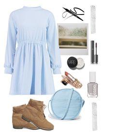Без названия #110 by zzzombie on Polyvore featuring polyvore fashion style Boohoo Steve Madden BAGGU Chanel Essie Polaroid clothing