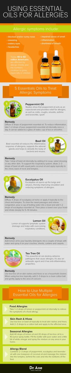 Using Essential Oils for Allergies