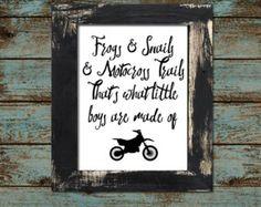Dirtbike Motocross Baby Boy or Toddler by KariDonellDesigns