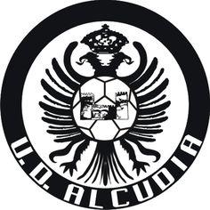 1975, UE Alcúdia (Alcúdia, Islas Baleares, España) #UEAlcúdia #Alcúdia #IslasBaleares (L19369) Badge, Soccer, Darth Vader, Football, Spain, Fictional Characters, Balearic Islands, Sports, Badges