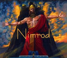 "When Nimrod was killed and his body parts were delivered to each of the ten provinces of the land of Shinar,  each province received one of his body parts. The ""seven hills"" of Rome where Nimrod was killed and his body parts were severed, will come back together again as the beast ""ascends out of the bottomless pit."" The ""image of a man"" (revived Nimrod) will be given life and made to speak, as he will be worshiped again as the Anti-Messiah: Chazown (Revelation) 13:15"