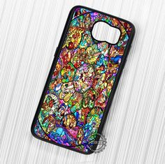 All Disney Heroes Stained Glass - Samsung Galaxy S7 S6 S5 Note 7 Cases & Covers