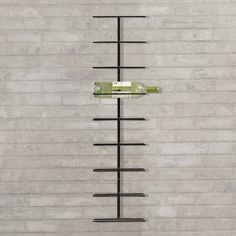 Blomus Pilare 12 Bottle Wine Rack in Matte Nickle