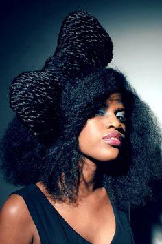 "Sephora Joannes Coiffures Afro (Bow-Tie) ""Huge One"" :-)"