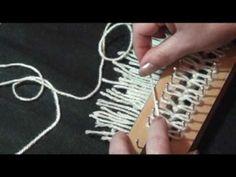 ▶ Lu Heringer -Tear de Pregos: PONTO CANELADO - PASSO A PASSO - YouTube