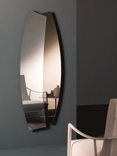 Contemporary style wall-mounted mirror DOUBLE - Bontempi Casa
