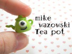 COLGANTE MIKE WAZOWSKI TEA POT de ARTESANÍAS HANDMADE por DaWanda.com