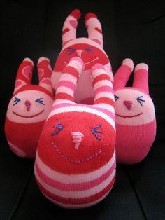 sock bunnies!