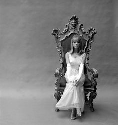 Pattie Boyd photographed by John French, 1964.