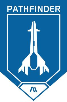 The Pathfinder Logo from the first Andromeda Initiative Orientation Video. Digital painted in Paint Shop Pro 7 Design by Bioware Mass Effect is (c) by B. ME Andromeda Pathfinder Logo Mass Effect Characters, Mass Effect Games, Mass Effect Art, Sara Ryder, Mass Effect Universe, Comic Manga, Adventurer, Constellation, Sci Fi