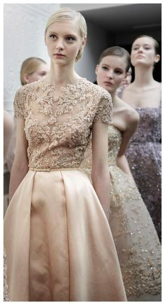 Elie Saab haute couture, Spring 2013 - backstage.