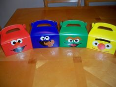 Hey, I found this really awesome Etsy listing at http://www.etsy.com/listing/108853649/sesame-street-favor-boxes-set-of-12
