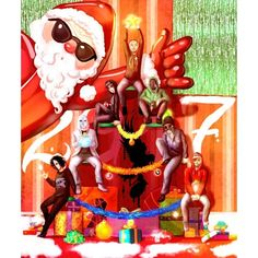 It's Christmas in Hollywood... by Faliti.deviantart.com on ...