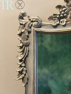 Adelia : French Imperial Style Mirror Chalk Paint, Mirrors, Door Handles, Artisan, Colours, French, Contemporary, Inspiration, Collection