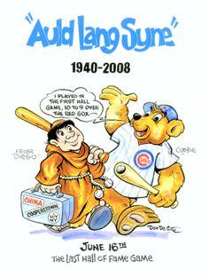 Baseball Hall of Fame Illustration