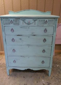 Antique Chest of Drawers Shabby Chic Chest Of Drawers, Antique Chest, Floor Space, Dresser, Flooring, Storage, Belgium, Rooms, Furniture