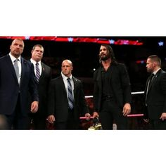 Backstage Update On The Authority Returning To WWE TV via Polyvore