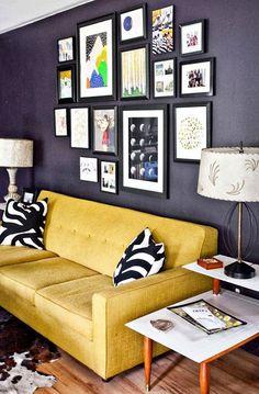 INSPIRÁCIÓK.HU Kreatív lakberendezési blog, dekoráció ötletek, lakberendező tanácsok: Vakmerő nappali átalakítás