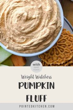 This creamy, smooth Pumpkin Fluff is the perfect Weight Watchers dessert. At just 2 Smart Points per half cup on WW freestyle plan and the myWW plans, it's a dessert you will make again and again this Fall. Weight Watchers Fluff Recipe, Weight Watchers Pumpkin, Weight Watchers Desserts, Pumpkin Fluff, Strawberry Fluff, Dinner Recipes, Dessert Recipes, Health Dinner, Pumpkin Recipes