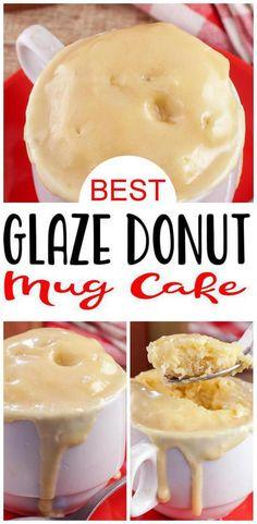 Easy Microwave Desserts, Microwave Mug Recipes, Easy Desserts For Kids, Mug Cake Microwave, Easy Meals For Kids, Fun Baking Recipes, Easy Snacks, Dessert In A Mug, Dessert Cake Recipes