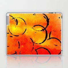 dotted Orange Laptop & iPad Skin by seb mcnulty - $25.00