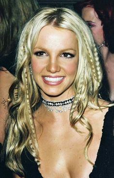 Crimping the hair was another big hair trend and I'm so thankful it's one of the very few 90s trends that haven't made a comeback. Britney Spears and Tyra Banks sported this look on multiple occasions. Read our thoughts on crimping and all about 90s fashion at https://shilpaahuja.com/fashion/trends/90s-fashion  #hairstyles #90shair #90s #90sfashion #hairstyle #britneyspears #crimping #90sstyle #1990sfashion #1990s