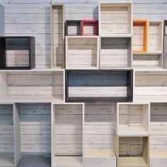 Boxserie™ - hyllykkö ja lokerikko, kasvava monikäyttöinen kalustesarjaLaatikkokauppa, sisustuskauppa netissä