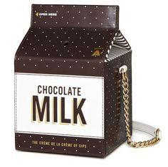 leche con chocolate bolso