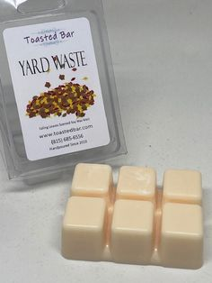 Yard Waste, Fall Scents, Soy Wax Melts, Candles, Garden Junk, Candy, Candle Sticks, Candle