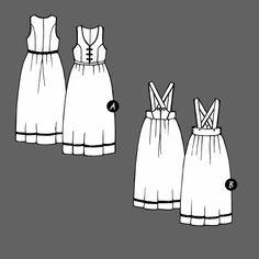 Nasjonaldragt str. 34 - STOFF & STIL Summer Dresses, Sewing, Fashion, Moda, Dressmaking, Summer Sundresses, Couture, Fashion Styles, Stitching