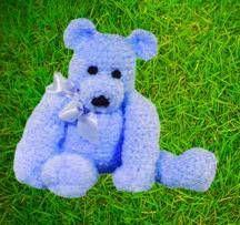 Teddy Bear - renee blixt & bill thomas   free pattern