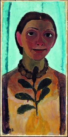 Paula Modersohn-Becker, an old favorite. Saw this at the Guggenheim a long time ago.