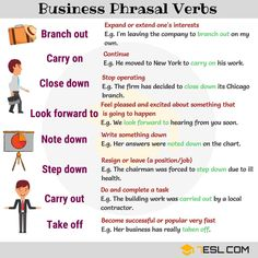 2000+ Common Phrasal Verbs in English and Their Meanings 18