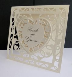 wedding die cut. 10 x gold//silver stained glass church window card toppers