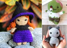 Halloween is very very close, so if you are not ready, better start right now! It's really the last call to make some cute crochet decors for your home. #freecrochetpattern #amigurumi #halloween