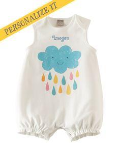 Toddler Girl Sweet Summer Romper - Rainy Day | Hallmark Baby Clothes
