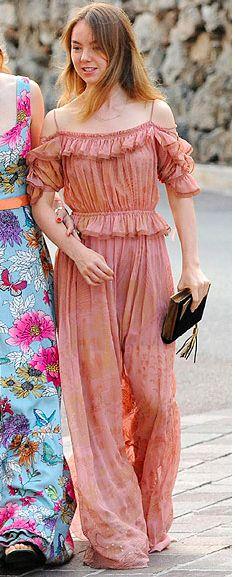 Princesse Alexandra de Hanovre, 1er juin 2017, Cérémonie de remise des Fashion Awards, Musée océanographique de Monte-Carlo
