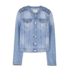 Stradivarius Denim Jacket with Knotted Detail €39.95