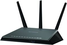 Buy Netgear: Nighthawk - Smart WiFi Router at Mighty Ape NZ. Nighthawk Smart WiFi Router with MU-MIMO – Faster and Farther The best WiFi router, just got better! Built with gaming, streaming and mobile. Best Wifi Router, Best Wireless Router, Usb, File Transfer, Cable Modem, Thing 1, Home Network, Ideas, Tecnologia