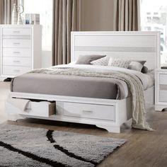 Coaster Furniture Miranda Storage Bed #coasterfurniture