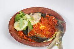 Steamed Milkfish with Sambal.   www.Warungapung.com
