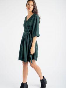 Fluid Wrap Dress | Press Fashions Canada