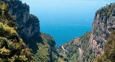 Il Sentiero degli Dei on the Amalfi Coast - trail of the gods, amalfi coast